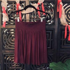 H&M | Maroon Skirt
